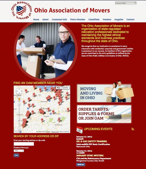OAM Website